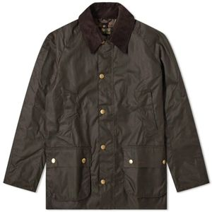 BNWT Barbour Ashby Wax Cotton Jacket - Olive - L